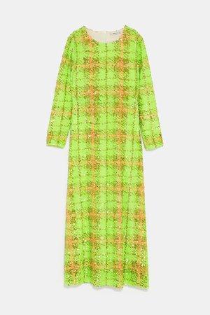 Zara Sequin Dress Feb 2019