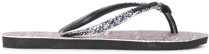 Glitter Flip-Flops