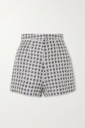 Ralph & Russo | Metallic tweed shorts | NET-A-PORTER.COM