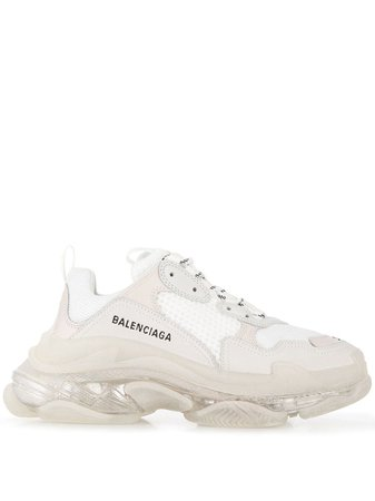 Balenciaga Triple S Clear Sole Sneakers - Farfetch