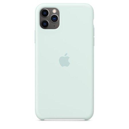 iPhone 11 Pro Max Silicone Case - Seafoam - Apple