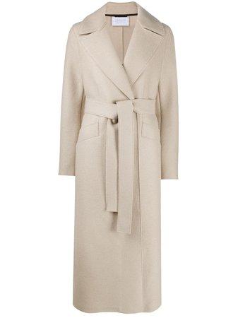 Harris Wharf London Belted Wool Coat - Farfetch
