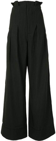 Heights wide-leg trousers