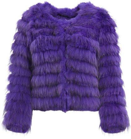 Fawn Fur Jacket