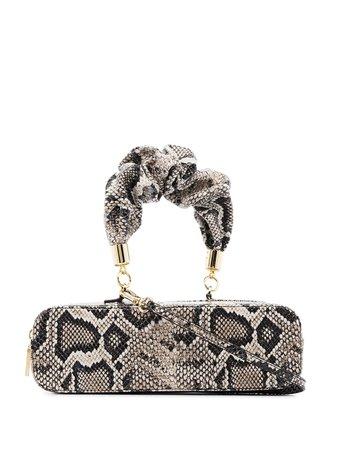 The Sant Mini Kinchaku Python Print Tote Bag - Farfetch