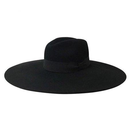 Gothic Wiccan Wide Brim Hat – ROCK 'N DOLL