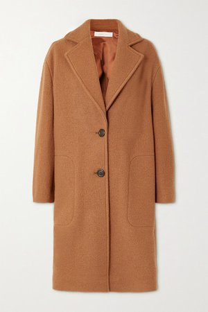 Wool-felt Coat - Camel