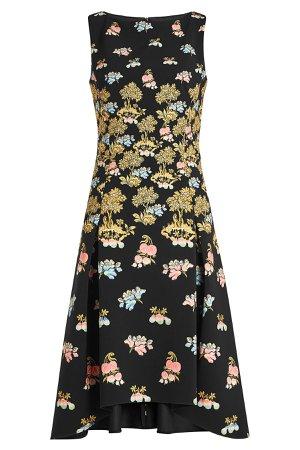 Printed Cady Dress Gr. UK 10