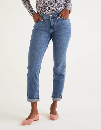 Girlfriend Jeans - Light Vintage