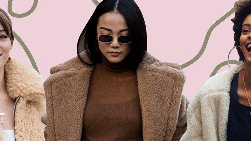 fuzzy coat fashion - Google Search