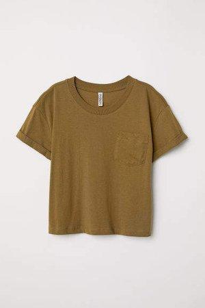 Short T-shirt - Green