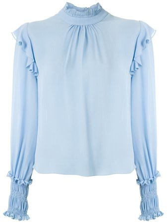 Nk Ruffle Trim Blouse - Farfetch