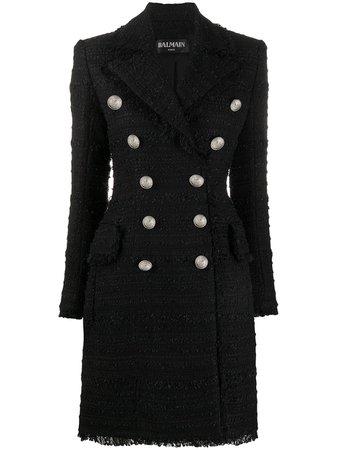 Balmain double-breasted Coat - Farfetch
