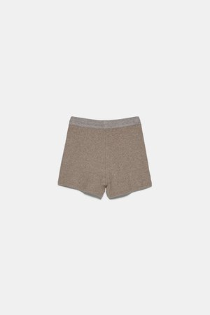 RIBBED SHORTS | ZARA United States