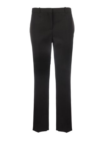 Givenchy *wide Leg Pants With Shiny Band/stripe