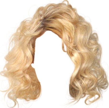 Short Blonde Curls