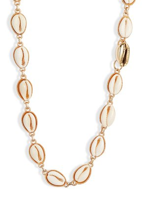Knotty Puka Shell Necklace | Nordstrom