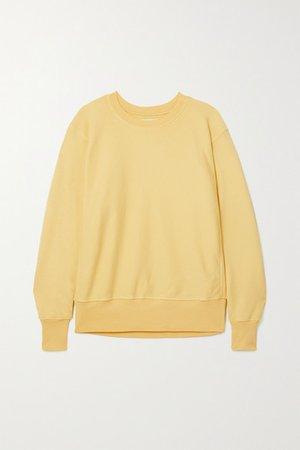 Cotton-jersey Sweatshirt - Yellow
