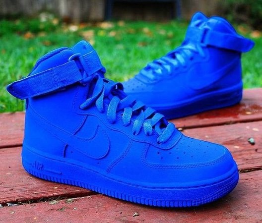 blue airforces