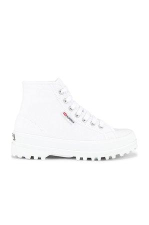 Superga 2341 Alpina Cotu Sneaker in White | REVOLVE
