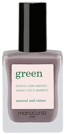Green Nail Lacquer - Slate