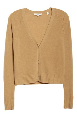 Vince Ribbed Cashmere Cardigan Sweater | Nordstrom