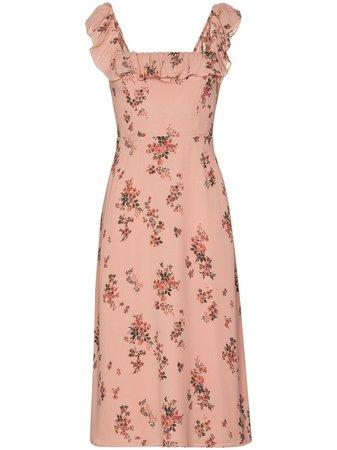 Reformation Colette floral-print Midi Dress - Farfetch