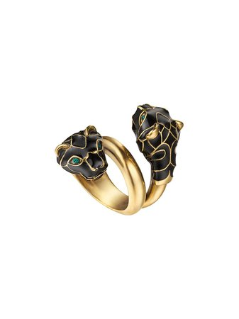Gucci Tiger Head Ring | Farfetch.com