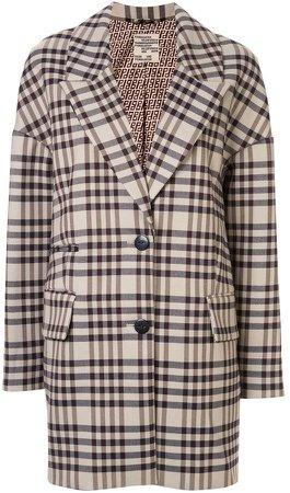 Dilone check coat