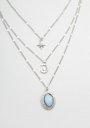 Vault of Heaven Layered Necklace Silver   ModCloth