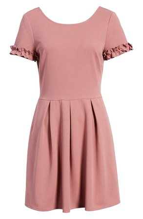 Speechless Ruffle Trim Minidress |
