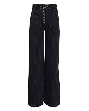 Ulla Johnson Abrams Wide-Leg Jeans | INTERMIX®