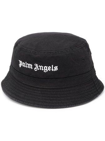 Palm Angels Logo Bucket Hat