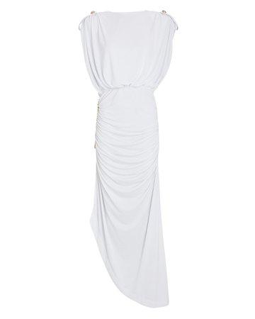 Retrofête Florence Chain-Embellished Maxi Dress | INTERMIX®