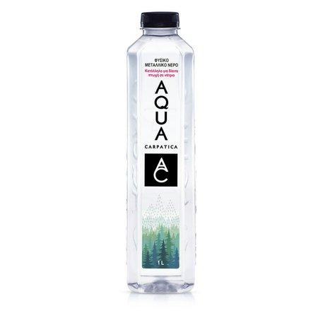 AQUA Carpatica Φυσικό Μεταλλικό Νερό 1lt   Market In