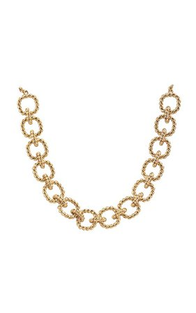 Avani 24K Gold-Plated Chain Necklace by VALÉRE