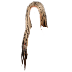 blonde and black hair png tiny braids