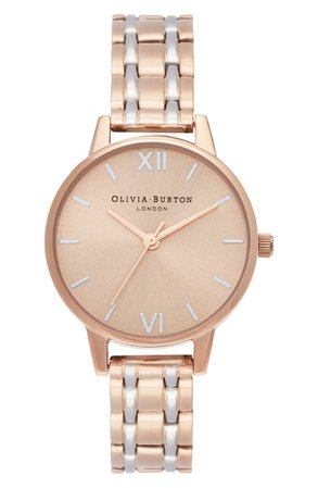 Olivia Burton The England Collection Bracelet Watch, 30mm | Nordstrom