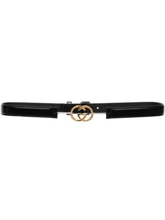 Gucci Interlocking GG Leather Belt - Farfetch