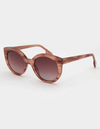 DIFF EYEWEAR Emmy Gradient Wine Sunglasses - WINE - CS-WG147 | Tillys