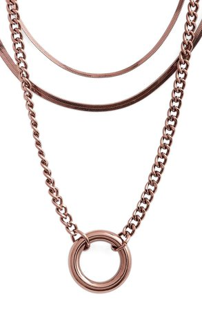 8 Other Reasons x Draya Michele Hidden Treasure Set of 3 Necklaces | Nordstrom