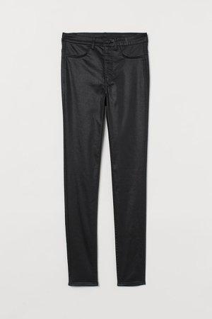 Super Skinny High Jeans - Black