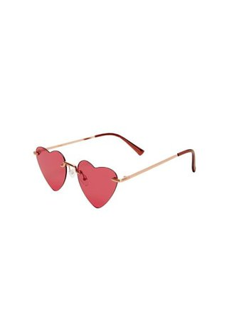MANGO Heart-shape sunglasses