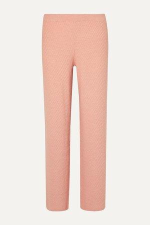Skin | Kamala cotton-blend wide-leg pants | NET-A-PORTER.COM