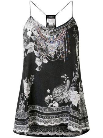 Camilla Moonshine Bloom Bluse Med t-ryg - Farfetch