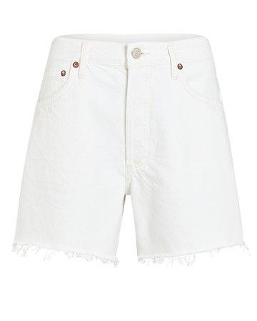 AGOLDE Reese Cut-Off Denim Shorts | INTERMIX®