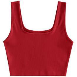 brandy melville tank top red - Google Search