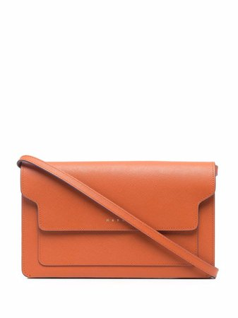 Marni Compartments Leather Clutch Bag - Farfetch