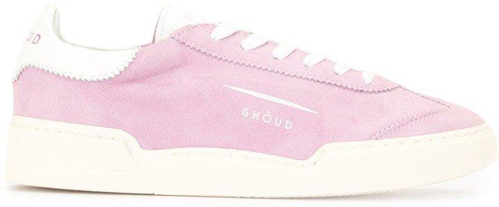 Ghoud Colour-Block Suede Sneakers