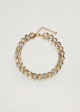Link chain necklace - Women   Mango USA